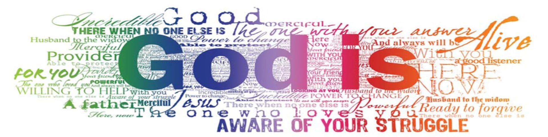 God Is Banner