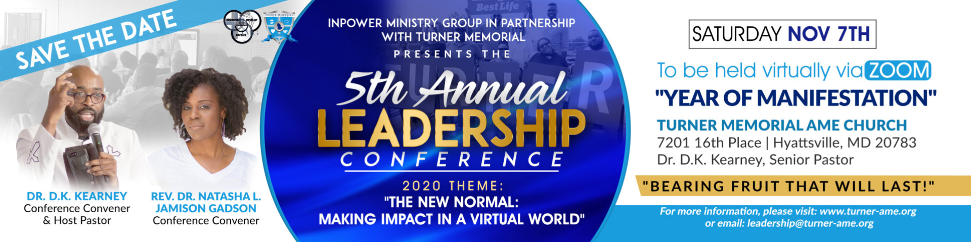 5th Annual Leadership Banner