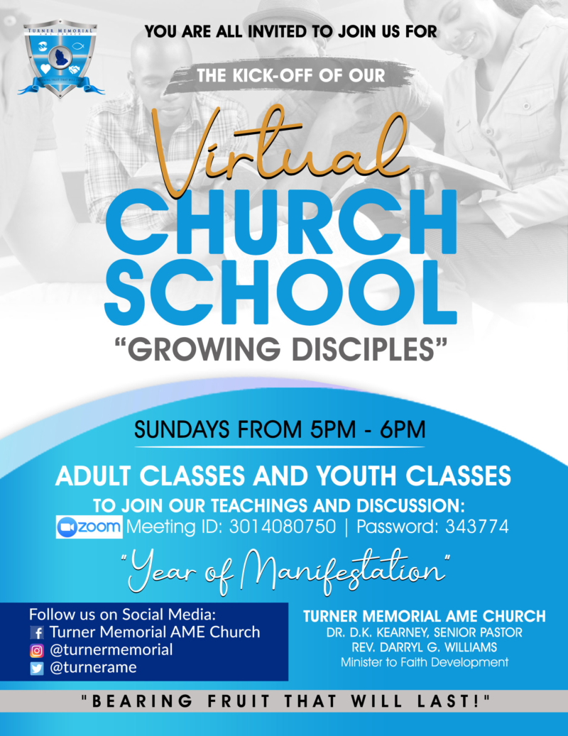 Church School Flyer