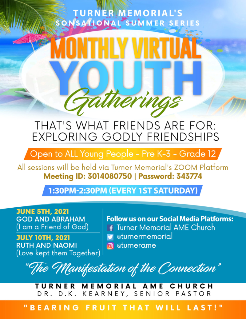Monthly Virtual Youth Gatherings