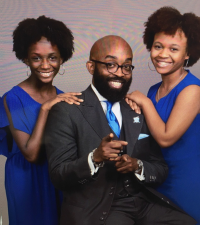 Pastor and his daughters