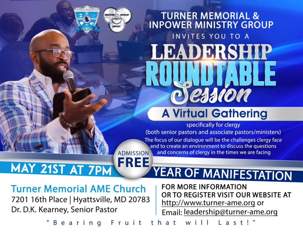 Leadership Roundtable Session for Pastors
